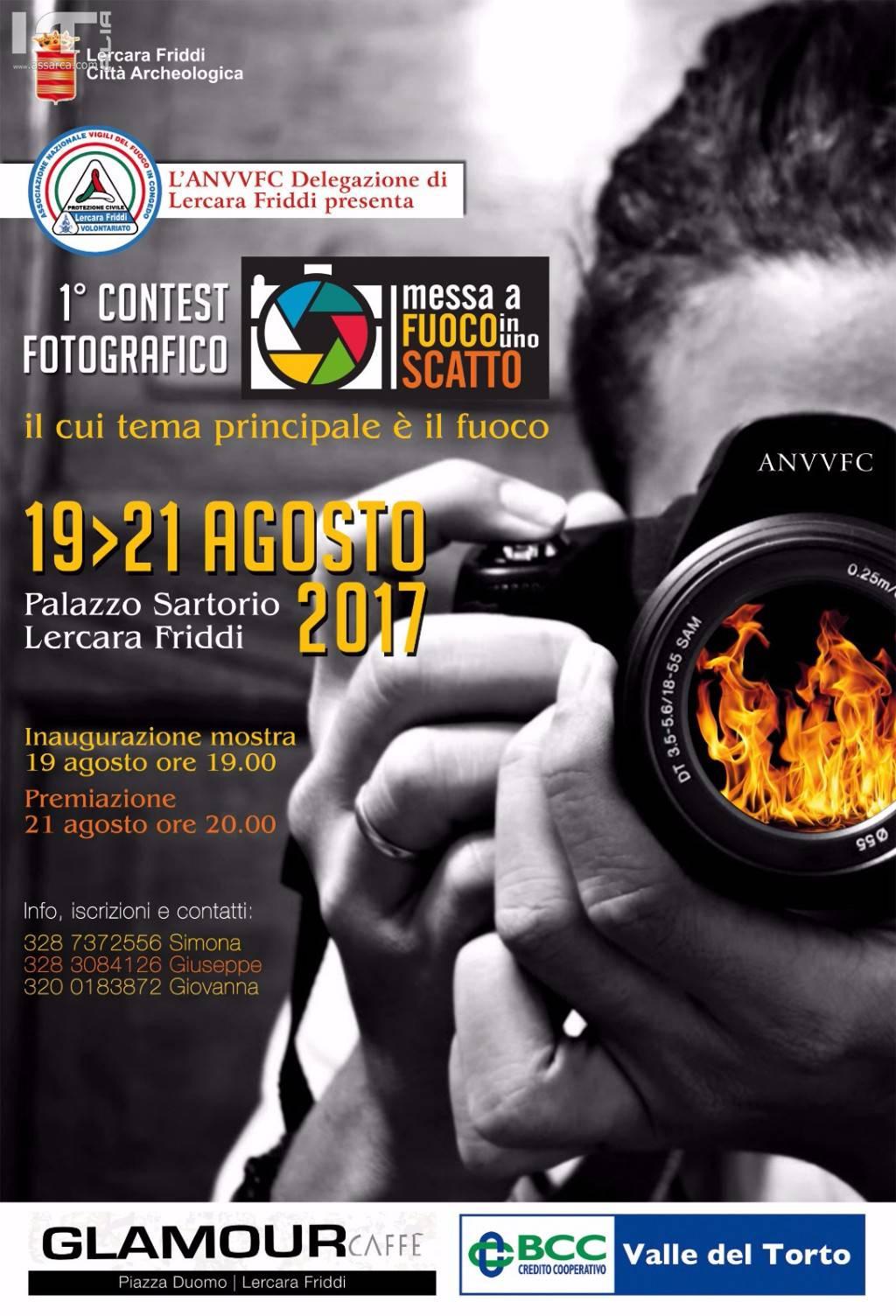 """1° Contest fotografico, """"IL FUOCO"""""""