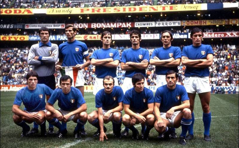 50 anni fa - Italia / Germania - 17 Giugno 1970