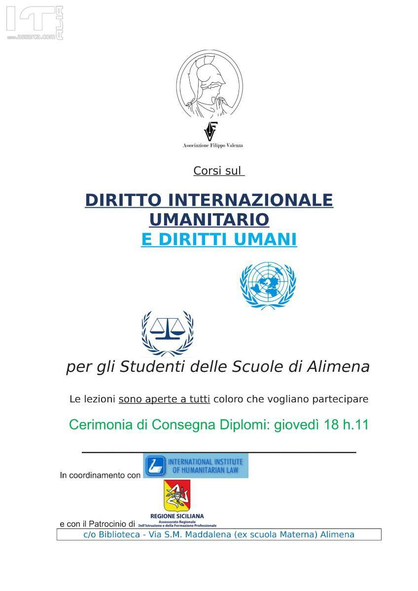 ALIMENA, LEZIONI SUL DIRITTO INTERNAZIONALE UMANITARIO (D.I....