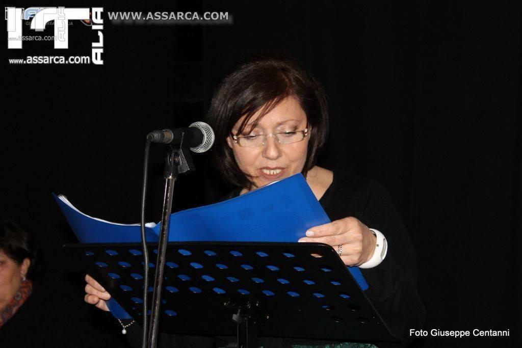 La poetessa e scrittrice Maria Teresa Lentini sara` ad Alia...