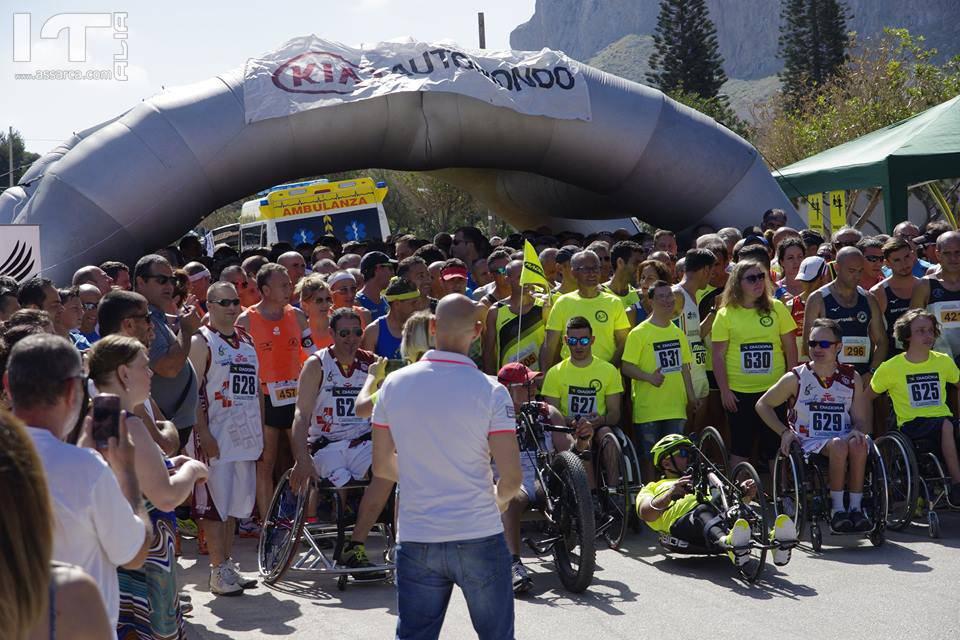 Podismo. Record di partecipazione alla 6° Corsa Zero Barriere,  vittorie assolute di Carla Grimaudo e Nicola Mazzara