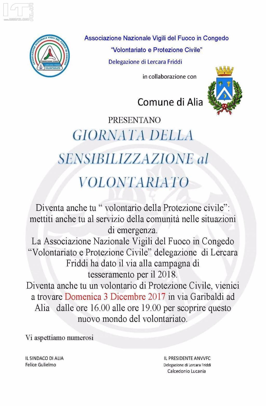 Volontariato e protezione civile