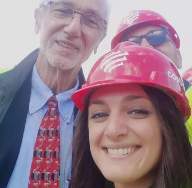 L'architetto Ilardo è uno dei tecnici operativi per la costruzione del ponte di Genova