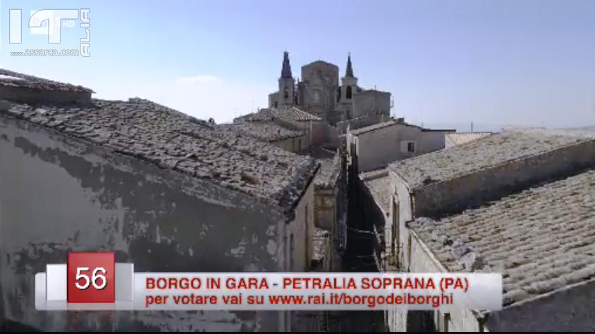 """Petralia Soprana candidata a diventare il """"Borgo dei Borghi"""". Sabato la finale"""