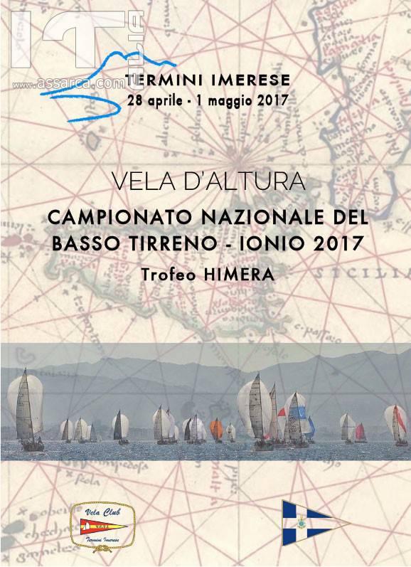 Dal 28 aprile al 1 maggio 2017 Termini Imerese ospiterà il Campionato Nazionale di Vela d'Altura del basso Tirreno e dello Ionio