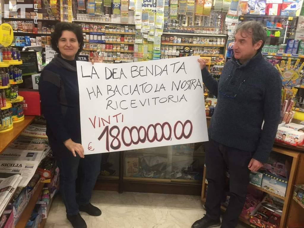 Valledolmo, vinti 18 milioni di Euro