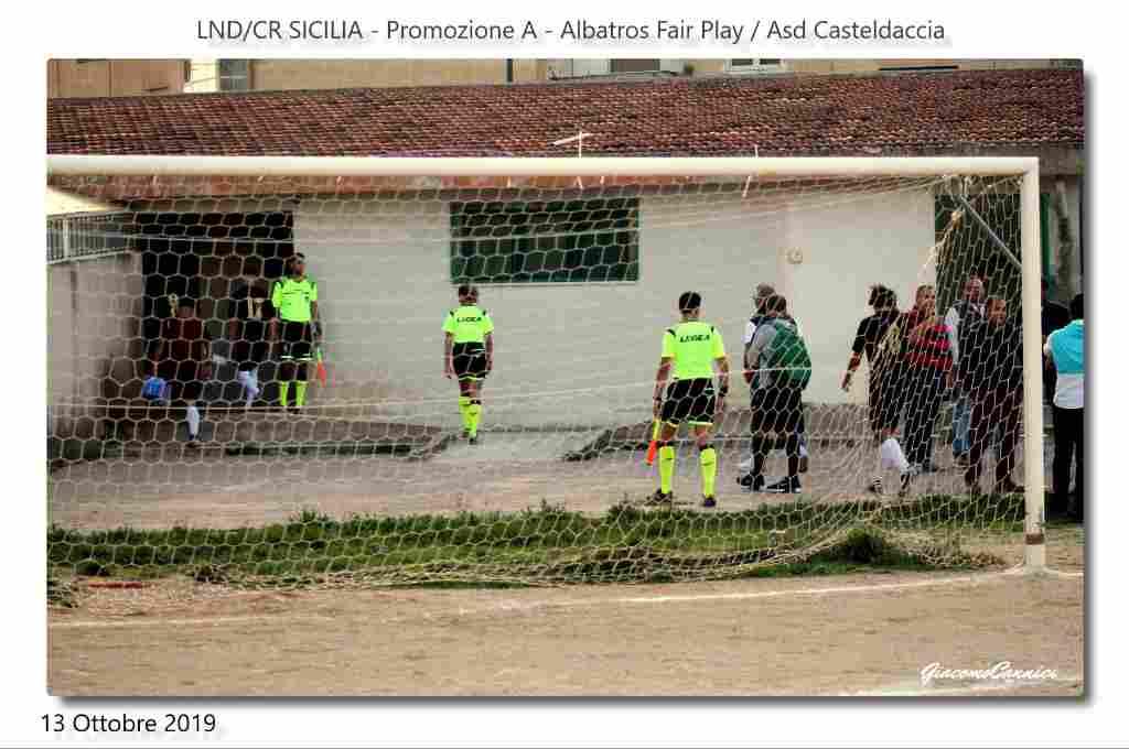 Promozione A:  Albatros Fair Play / Casteldaccia : � Il Walzer delle occasioni sprecate�.