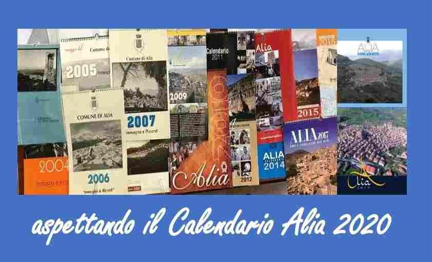 CALENDARIO ALIA 2020 (XVIII� edizione)