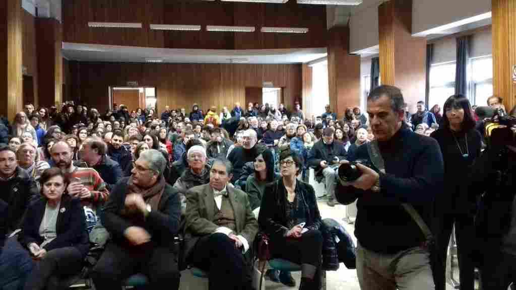 La conferenza del famoso egittologo prof. Zahi Hawass nell�aula magna dell�Universit� di Palermo