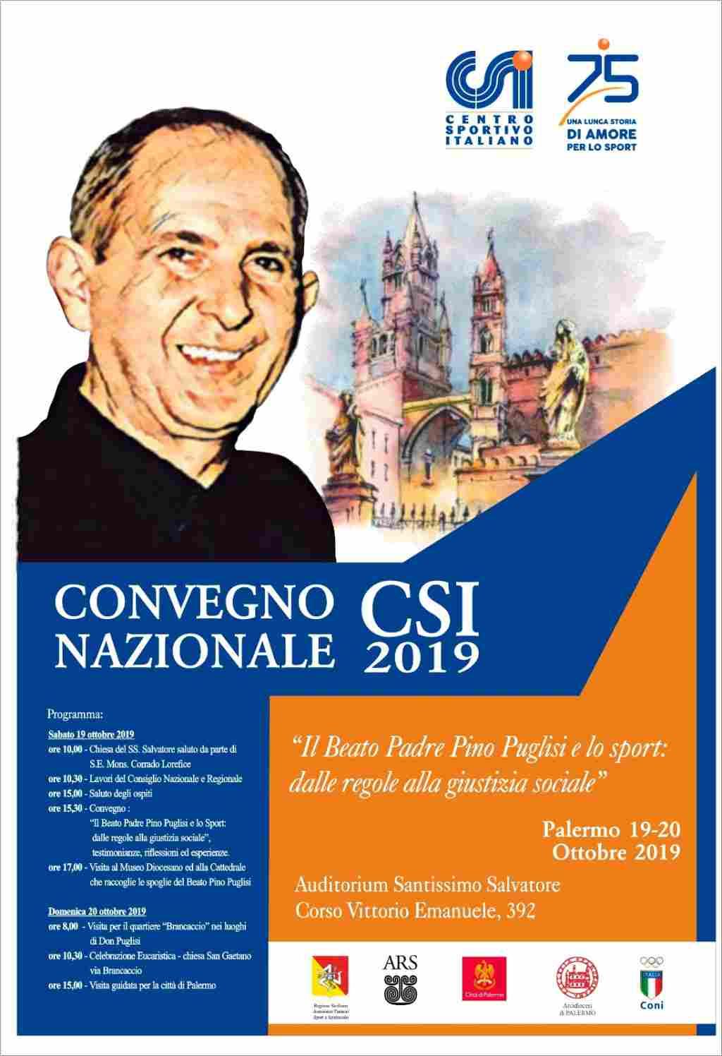 Il Csi a Palermo, sulle orme di don Puglisi Seminario sulla legalit�