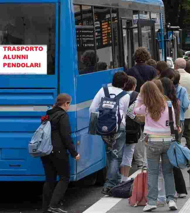 RIMBORSO SPESE TRASPORTO ALUNNI PENDOLARI a.s. 2018/2019
