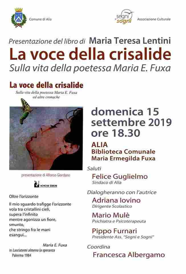 La voce della crisalide ( Sulla vita della poetessa Maria E. Fuxa)