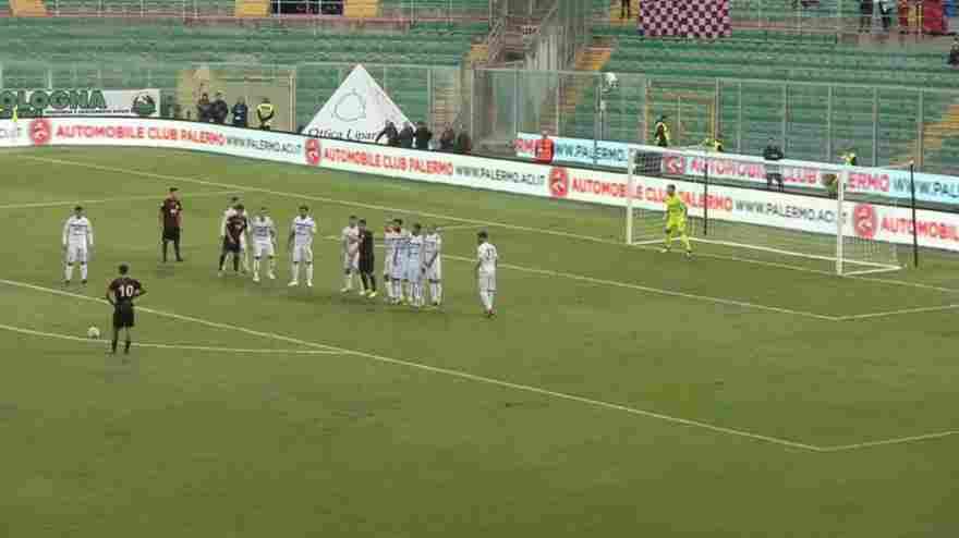 Seconda sconfitta casalinga per il Palermo - L`Acreale vince al