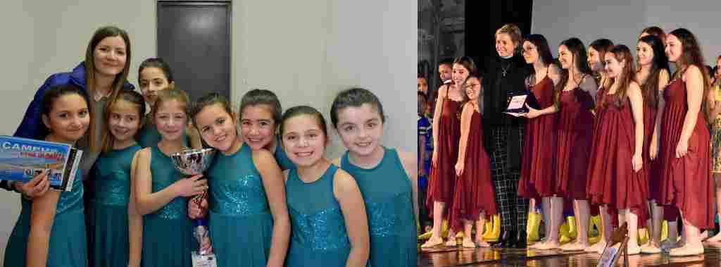 La scuola di danza del Pro Alia al concorso nazionale