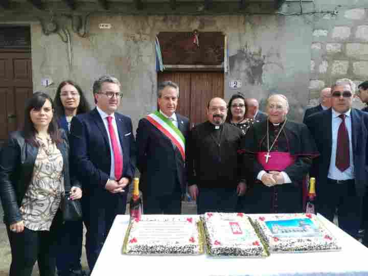 Petralia Soprana. Festeggiamenti per la presa di possesso canonico della parrocchia SS. Pietro e Paolo di Don Calogero Falcone