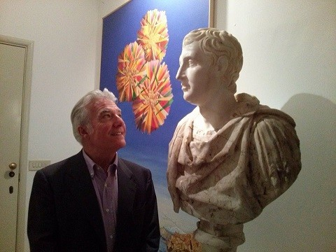 Matteo Collura a Taormina ospite di Ghumbert
