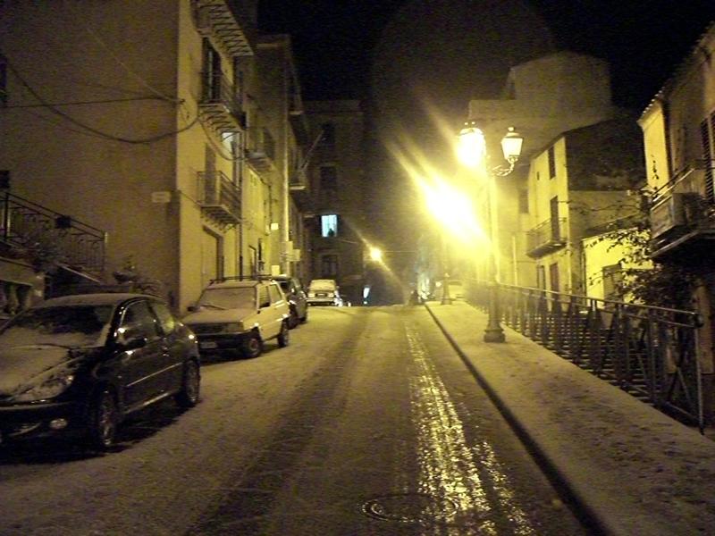 Alia, nuova ondata di freddo e neve