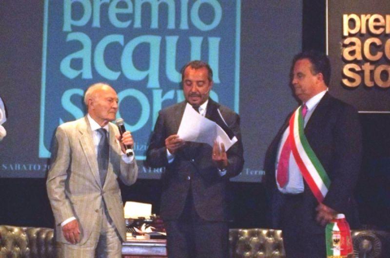 CASTRONOVO DI SICILIA (PA): PEPPINO BENINCASA premiato ad ACQUI TERME