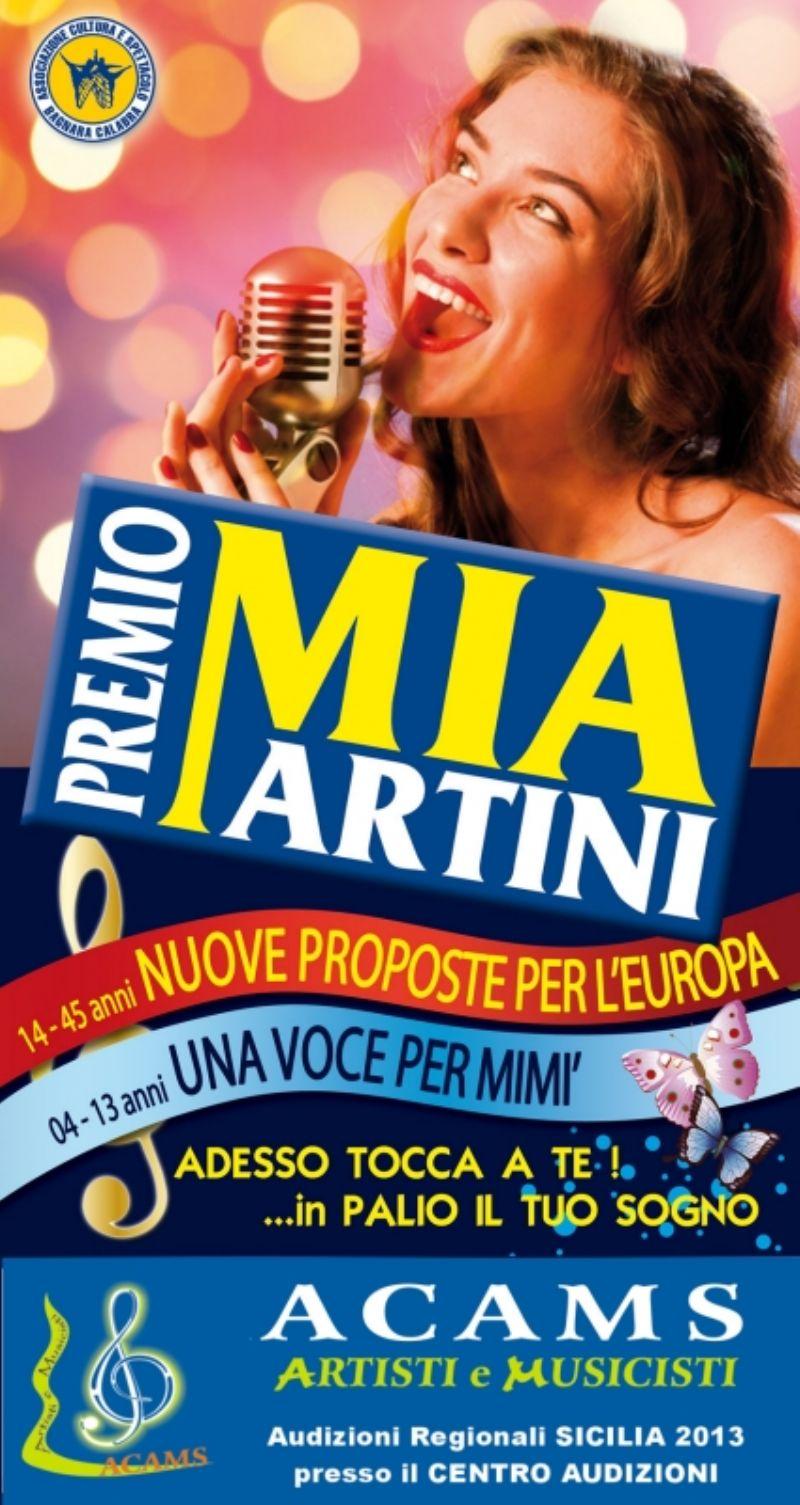 Selezioni e Audizioni Premio Mia Martini 2013 SICILIA