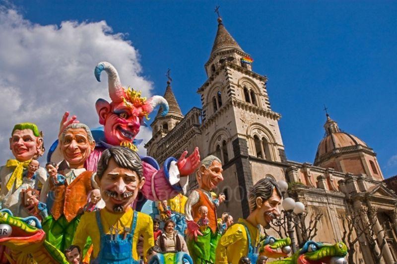 SiciliAntica al Carnevale ad Acireale