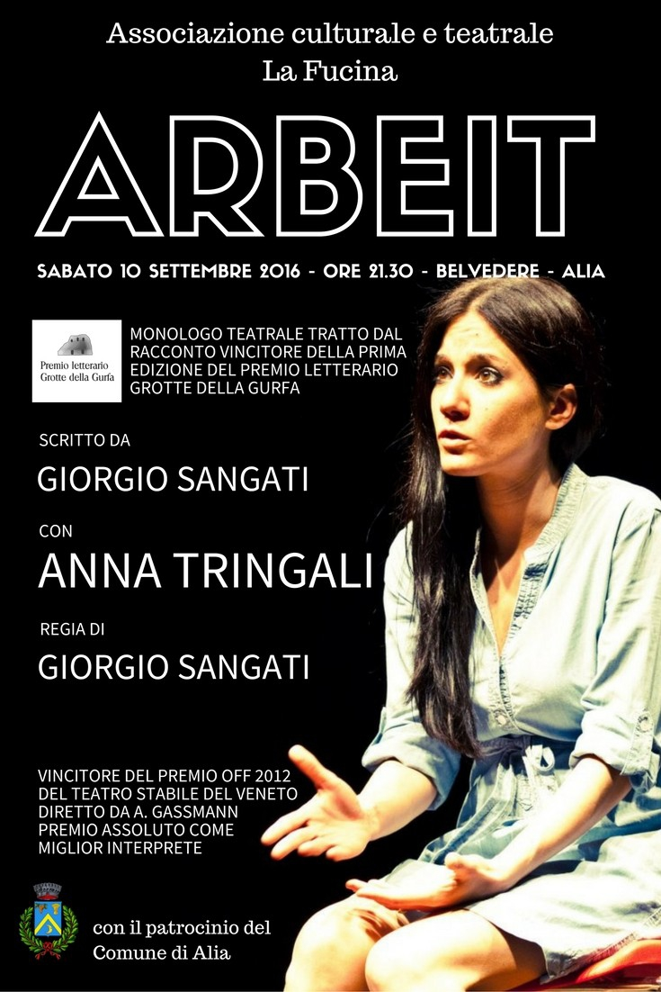 Alia (PA) - Arbeit - Monologo teatrale
