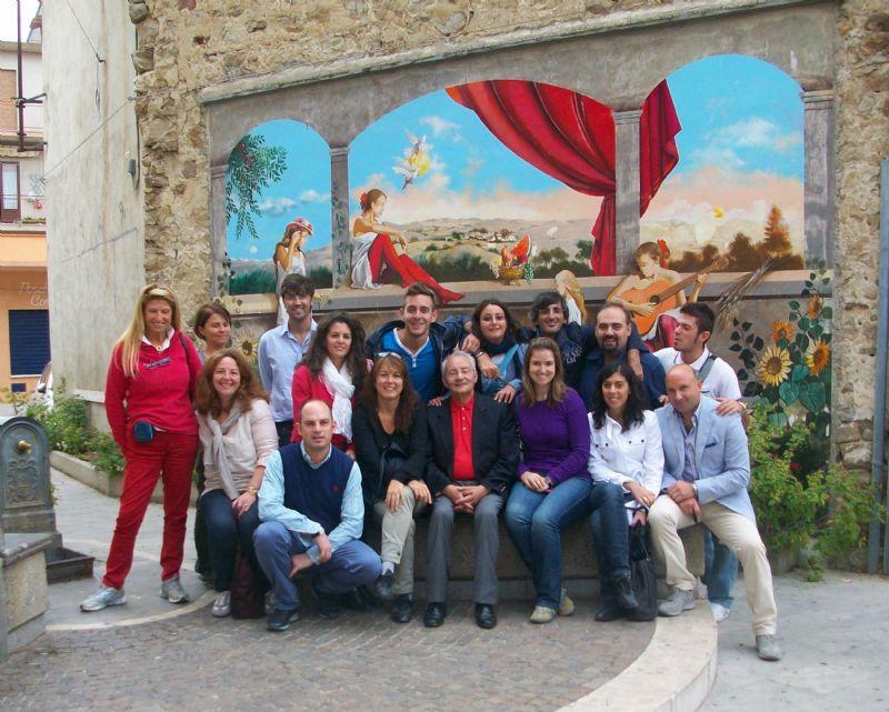 TOUR OPERATORS ITALIANI E STRANIERI IN VISITA A CASTELLANA PER CREARE UN PACCHETTO RIVOLTO AI TURISTI STATUNITENSI