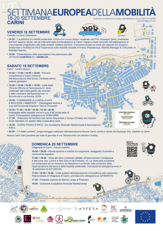 Carini: BCsicilia partecipa alla Settimana Europea della Mobilit� con la visita guidata alla edicole votive della citt�.