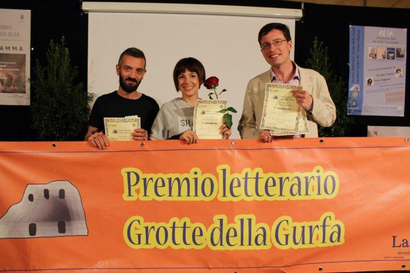 Consegna del Premio letterario Grotte della Gurfa