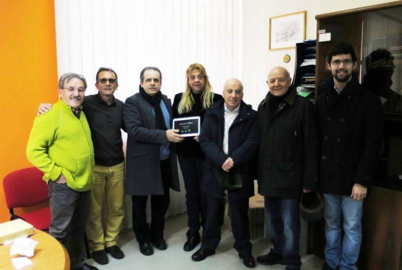 TERMINI IMERESE (PA): SiciliAntica dona un Tablet al Liceo Scientifico �Nicolò Palmeri�