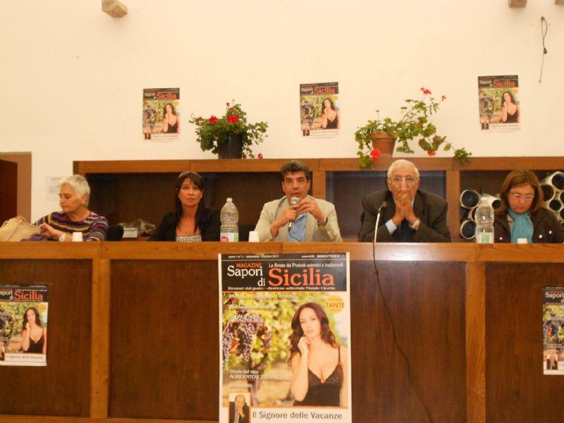 GERACI SICULO (PA) -  PRESENTATA LA RIVISTA SAPORI DI SICILIA