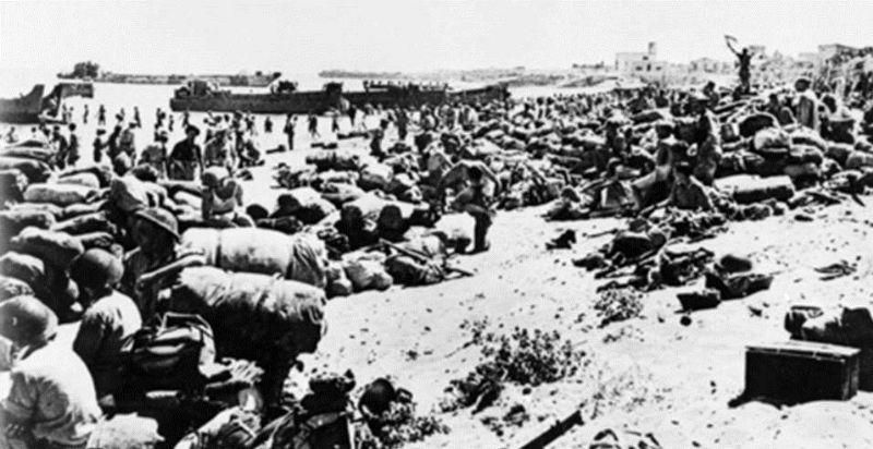 CATANIA: COMMEMORAZIONE CADUTI ANZAC IN SICILIA Agosto 1943