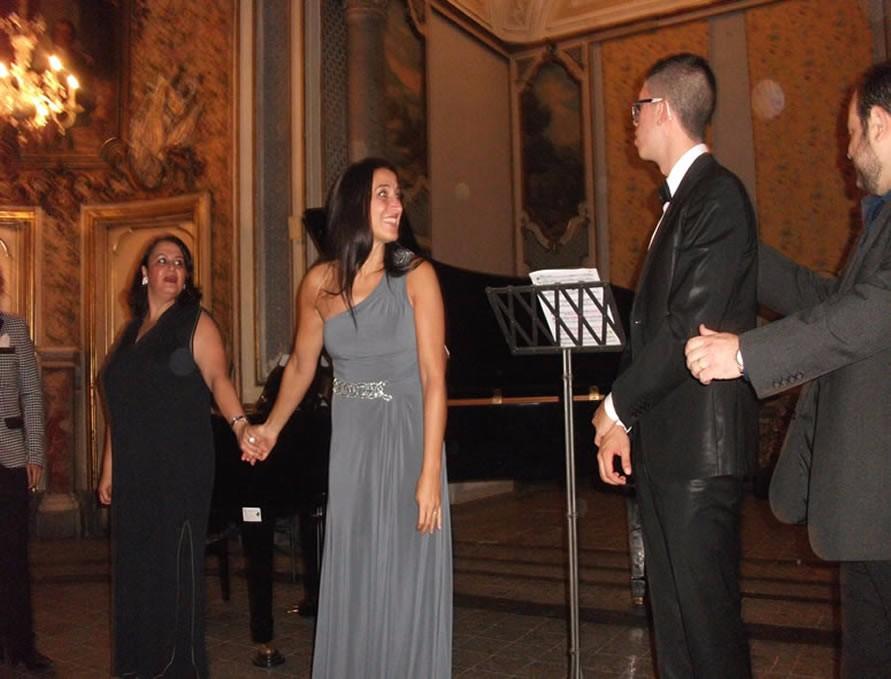 Festival Belliniano: successo del concerto a Palazzo Biscari nel centottantesimo anniversario della morte del Cigno