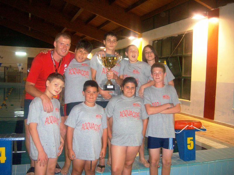 Alia: Vince la 4^ edizione del torneo di acquagol la squadra sponsorizzata da  Edil T M