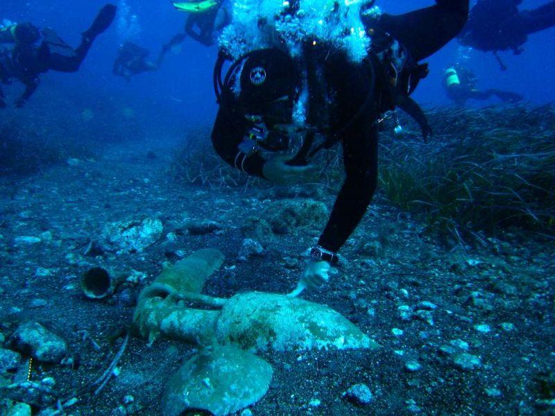 S. Flavia: Escursione subacquea. Visita guidata al percorso archeologico