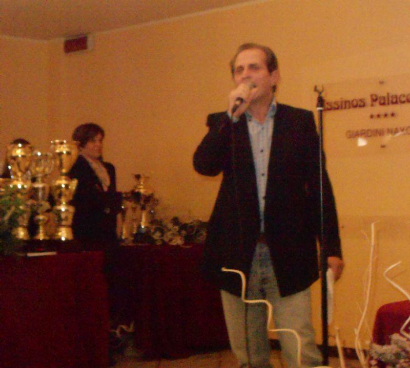 GIARDINI NAXOS (ME) - Premio al cantautore  Enzo Salvia