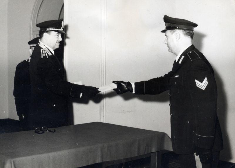 PALERMO - Nota biografica del  Maresciallo Maggiore Vito IEVOLELLA