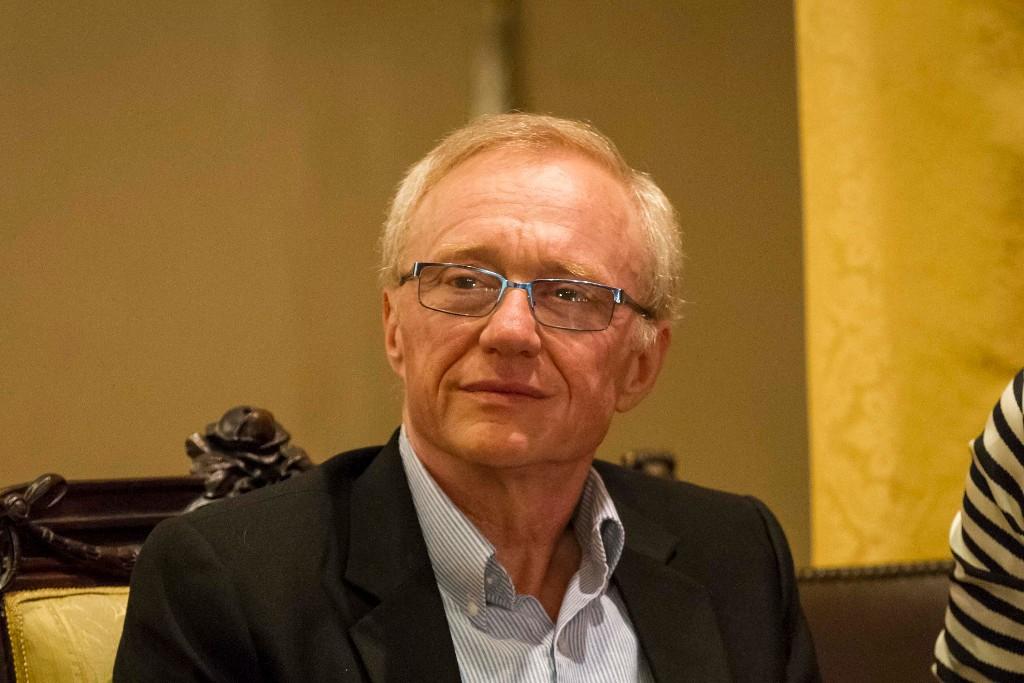 TAORMINA (ME) - David Grossman ospite di Taobuk, il festival letterario fondato e diretto da Antonella Ferrara