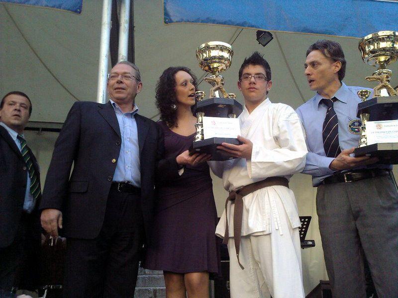 Cerda:Un riconoscimento da parte dell`amministrazione comunale all`atleta Alessandro Facella
