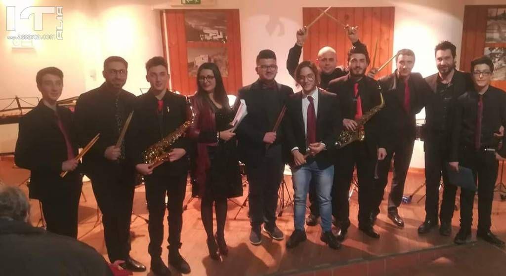 Roccapalumba, le musiche dei Percusax alle Notti di BCsicilia
