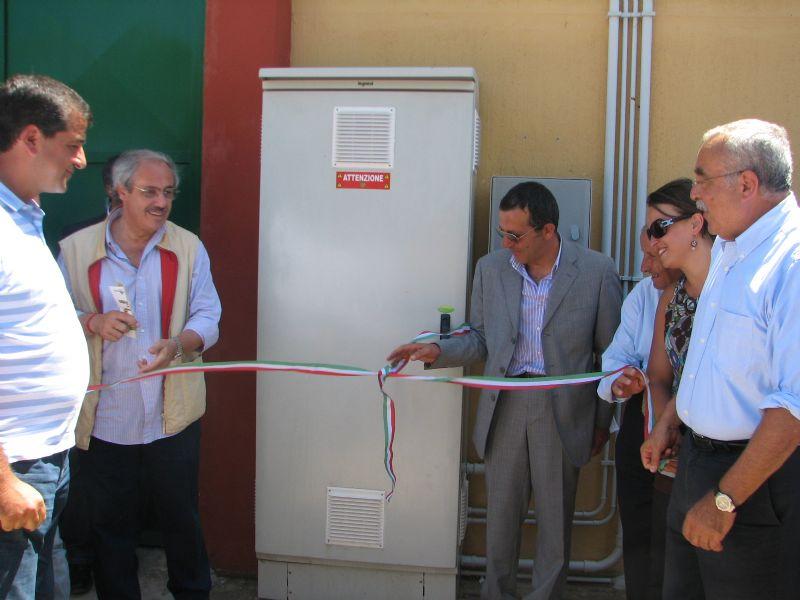 """Caltavuturo:Inaugurato l` impianto fotovoltaico in contrada """"Giovannazzo"""""""
