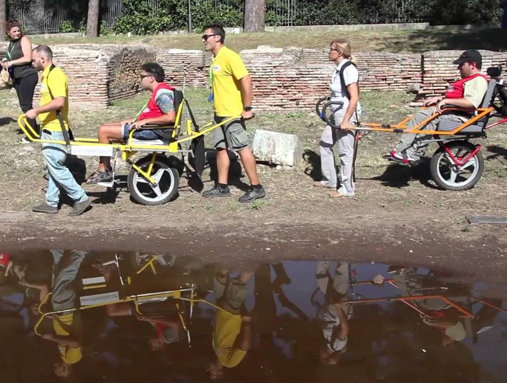 All�isola di Mozia terza tappa del progetto filmico �Le Strade di Adam�. Per rendere fruibili a milioni di disabili 10 luoghi della cultura italiana