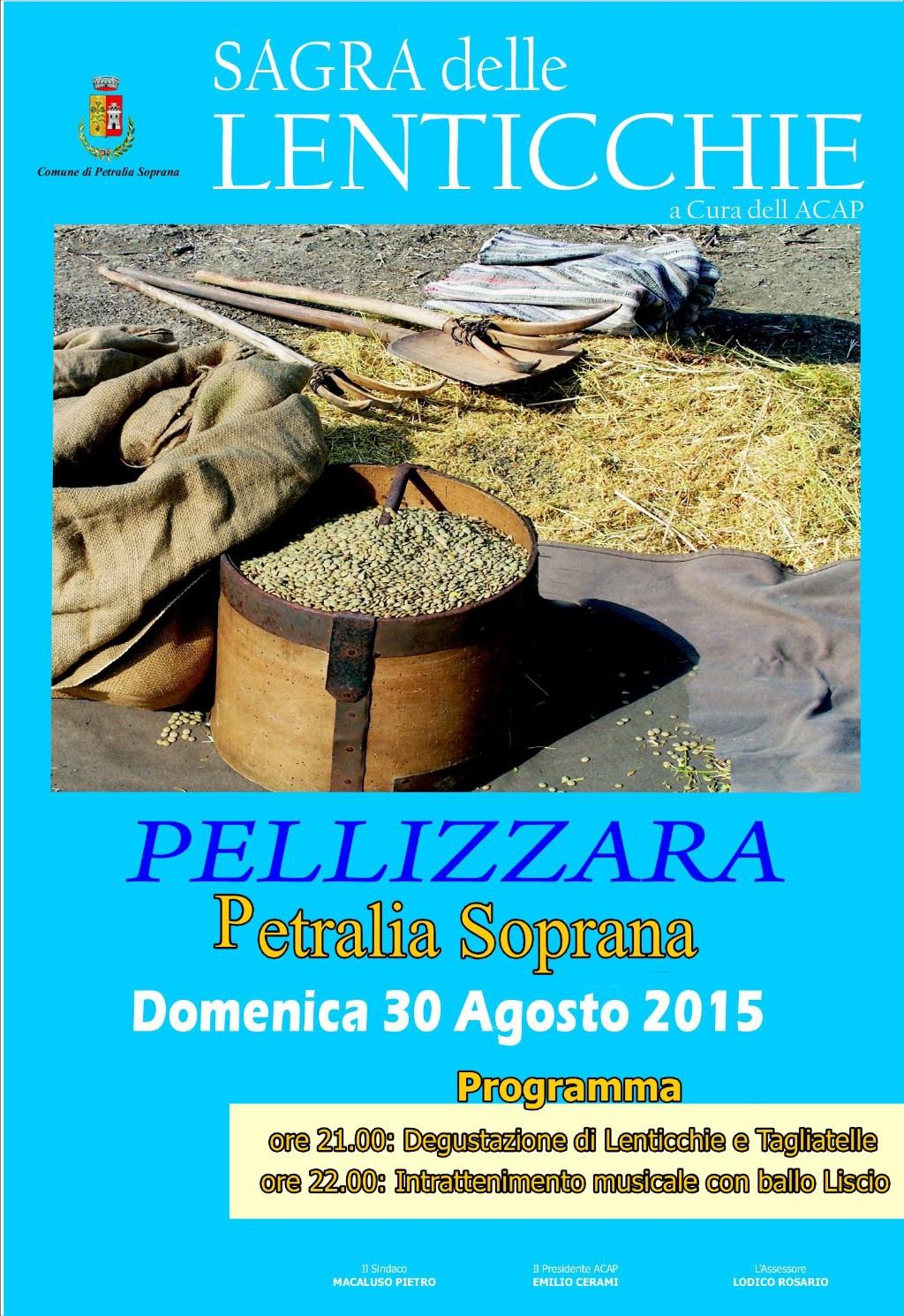 Petralia Soprana (PA) -  Domenica sagra delle lenticchie a Pellizzara