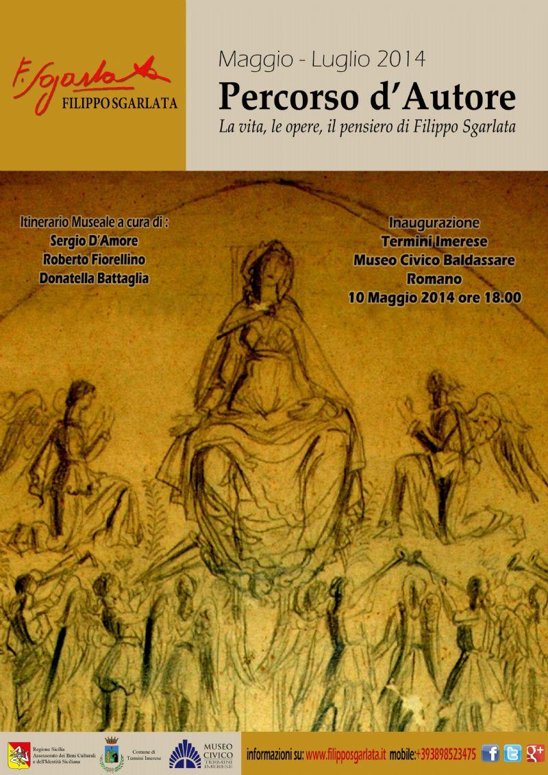 """TERMINI IMERESE: Inaugurazione itinerario museale """"Percorso d'autore - La vita, le opere e il pensiero di Filippo Sgarlata"""""""