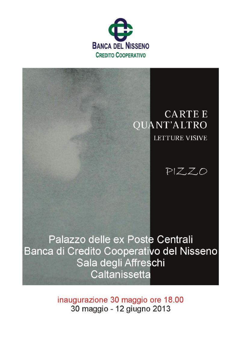 CALTANISSETTA: La nuova mostra di Salvatore Pizzo