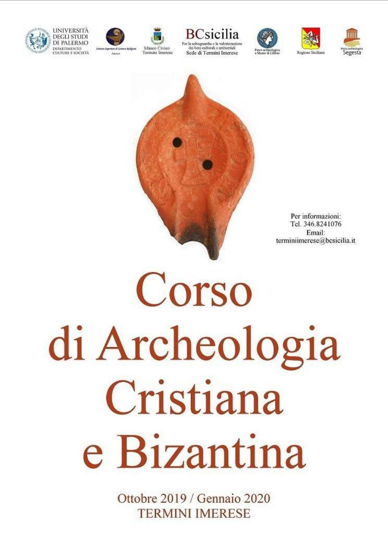 BC SICILIA TERMINI IMERESE, CORSO DI ARCHEOLOGIA CRISTIANA E BIZANTINA