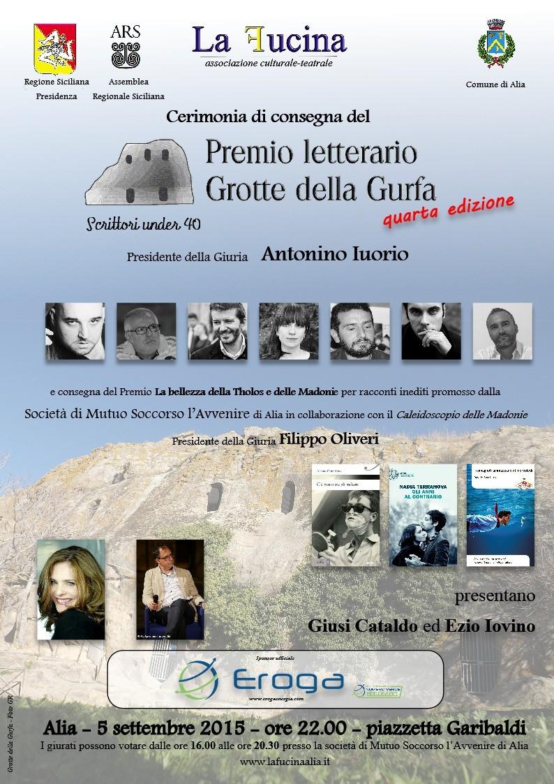 Alia (PA) - Premio letterario Grotte della Gurfa - quarta edizione