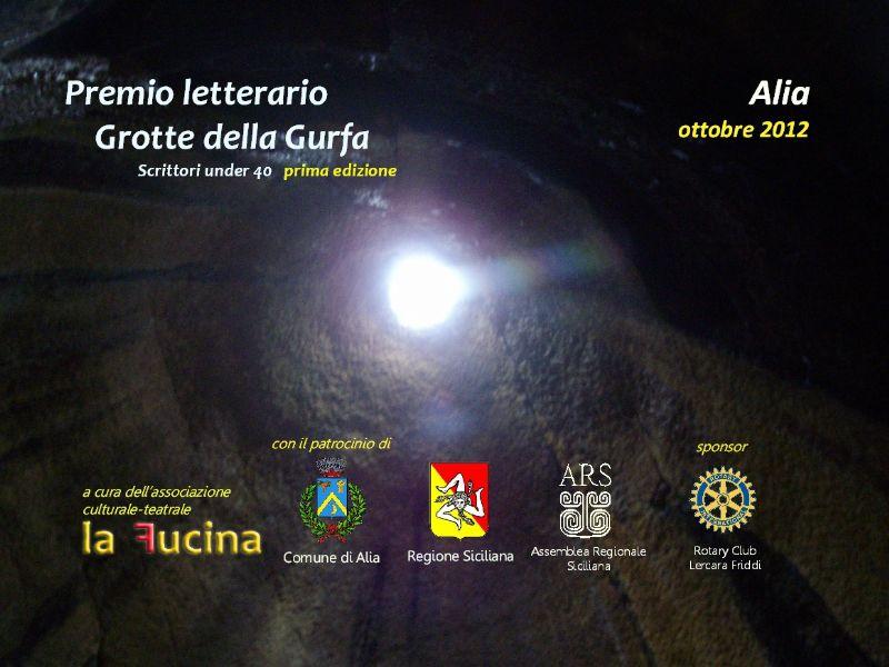 Alia (PA) - Premio letterario Grotte della Gurfa - Prima edizione