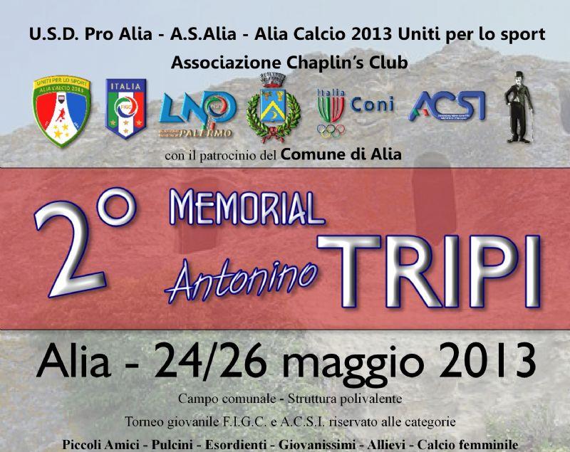 2° Memorial Antonino Tripi