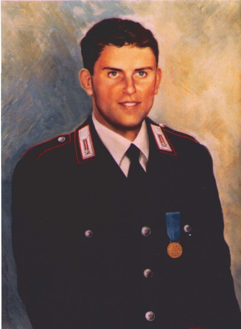 PALERMO - 13 Ottobre 2011, commemorazione del carabiniere ausiliario (M.O.V.M. alla memoria) DI BONAVENTURA Stefano