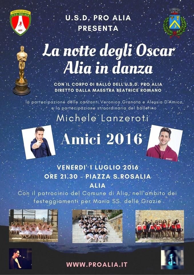 La notte degli Oscar - Alia in danza - Terzo saggio di danza dell`U.S.D Pro Alia